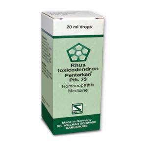 Rhus toxicodendron Pentarkan Ptk 73